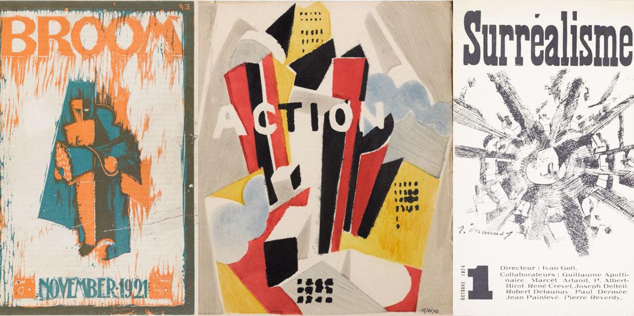 Le riviste delle avanguardie degli anni '20 e '30 in download gratuito