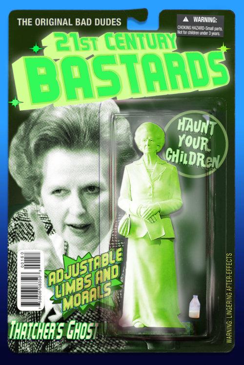 Margaret Thatcher in versione fantasma, per spaventare i più piccoli