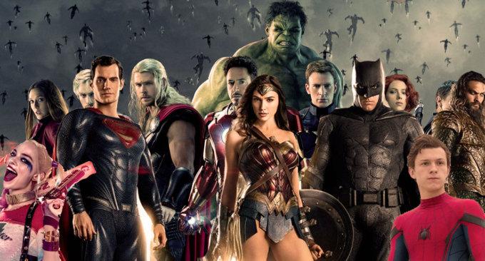 Un mash up casereccio che farà crashare i superhero nerd