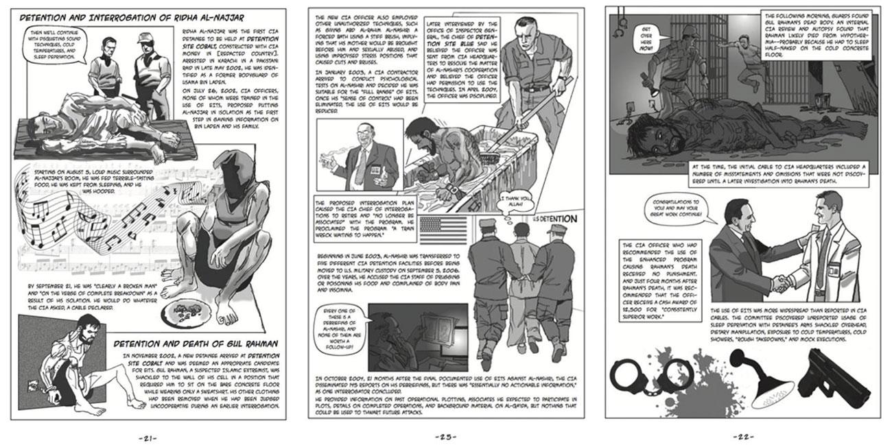 libro fumetti torture USA