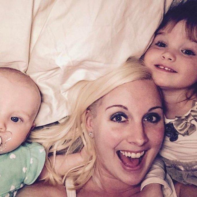 Brandi, Sophie e l'altra figlia neonata
