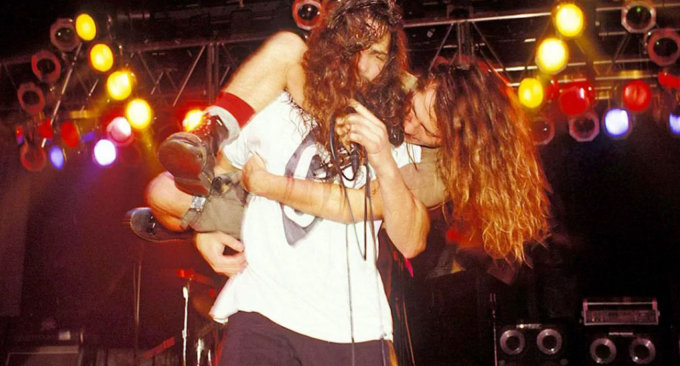 Chris Cornell e Eddie Vedder