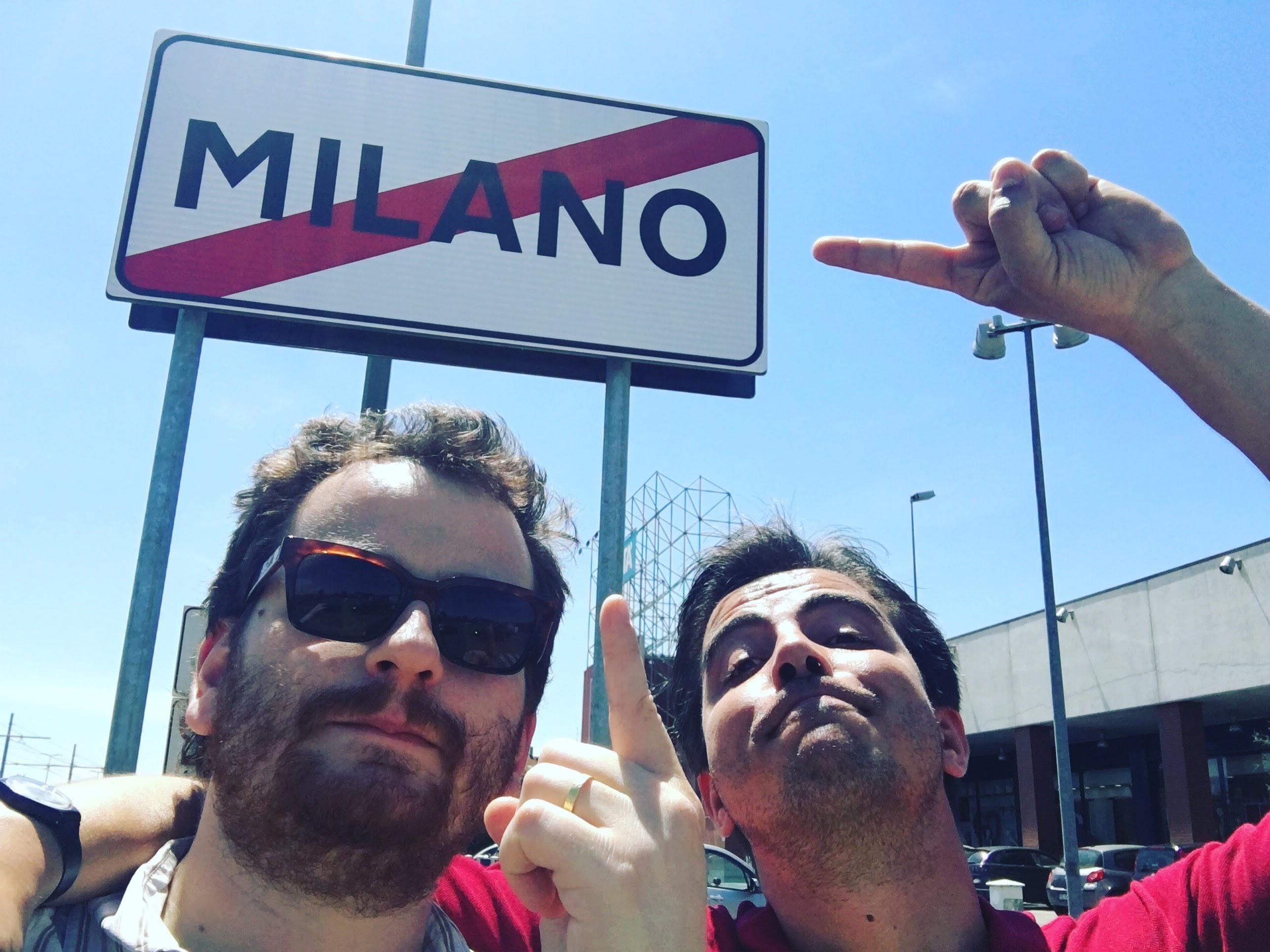La fine della Traversata di Milano a piedi