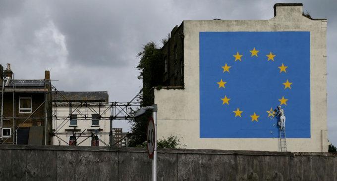La Brexit secondo Banksy