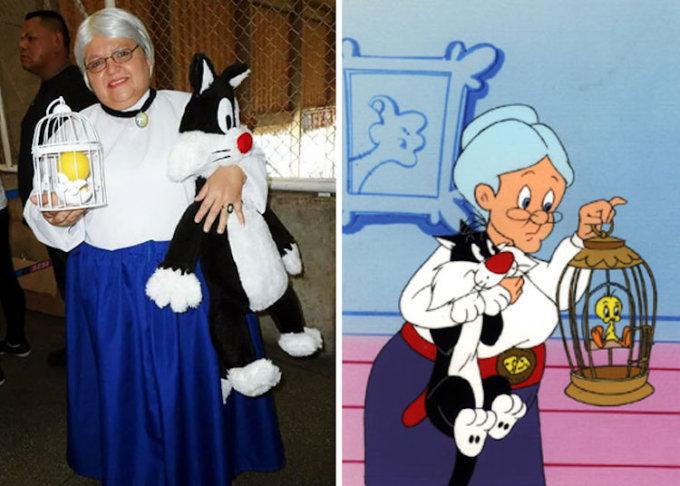 """La nonna di """"Gatto Silvestro"""""""