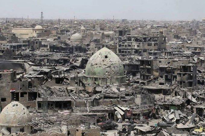Mosul distrutta