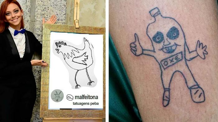Helena Fernandes fa solo tatuaggi brutti e il suo negozio è sempre pieno