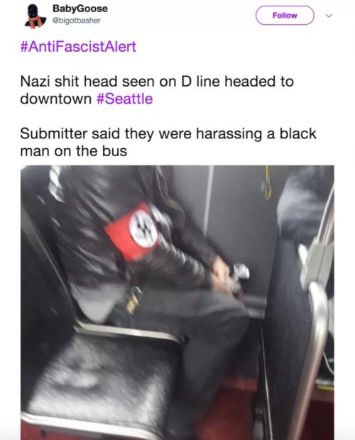 Il nazi sull'autobus