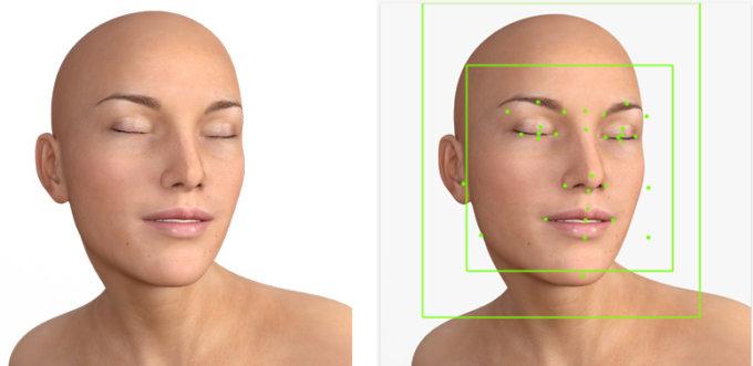 Il riconoscimento facciale Google Vision