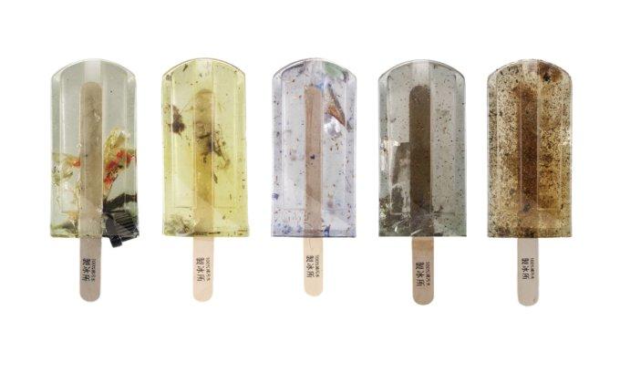 Mangialo tu un ghiacciolo pieno di plastica e altre schifezze