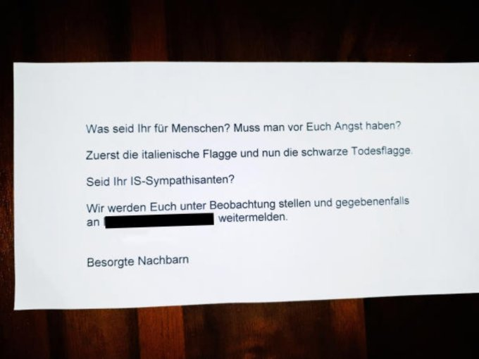 La lettera anonima