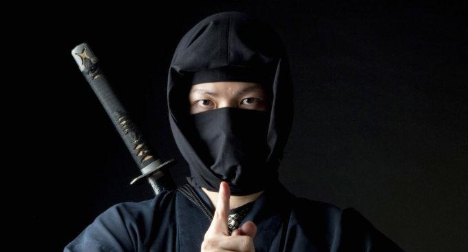 Un ninja (foto di archivio)