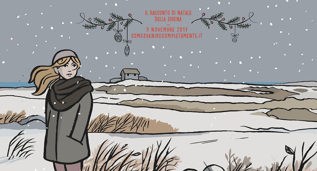 Il racconto della Sirena di Natale è la nuova storia di Alessandro Baronciani