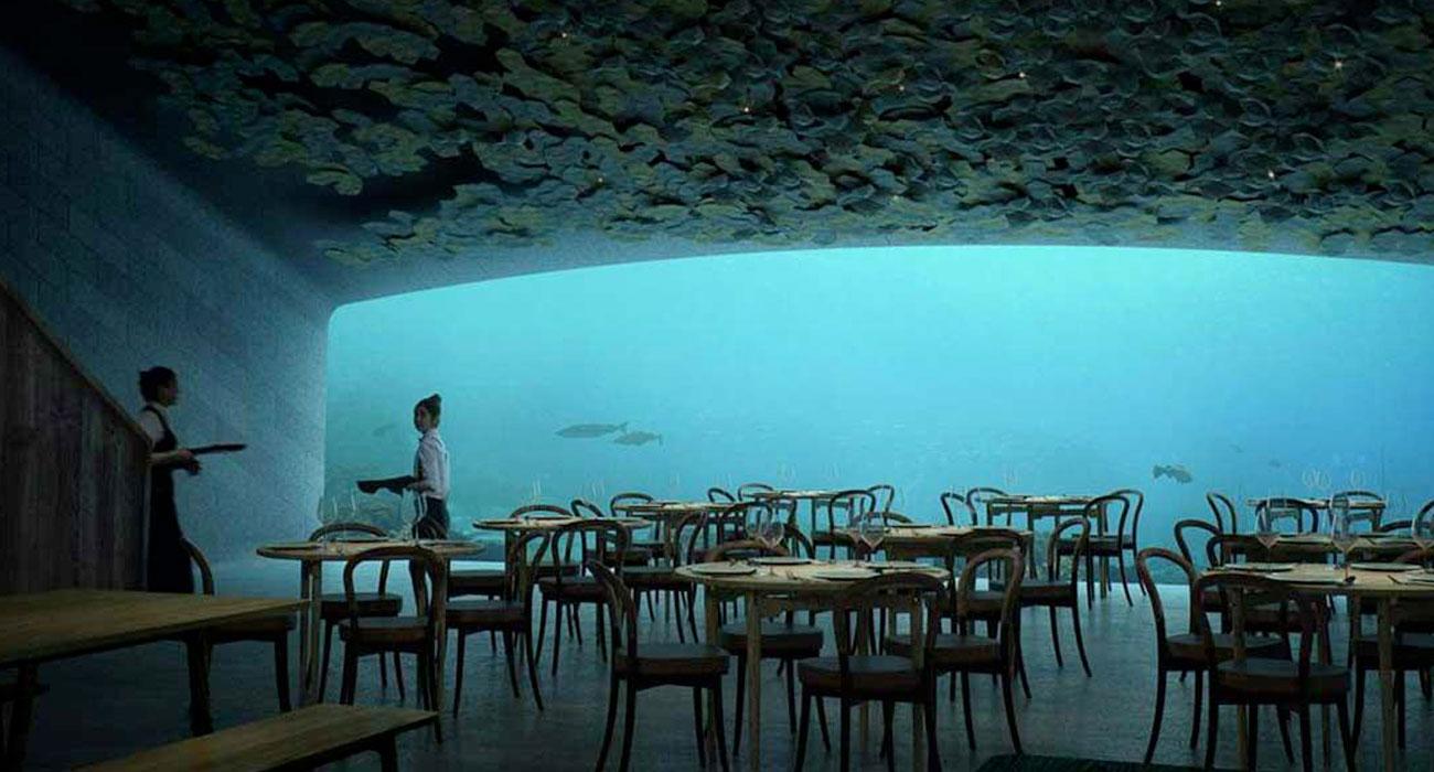 UNDER, Il primo ristorante europeo sotto il mare